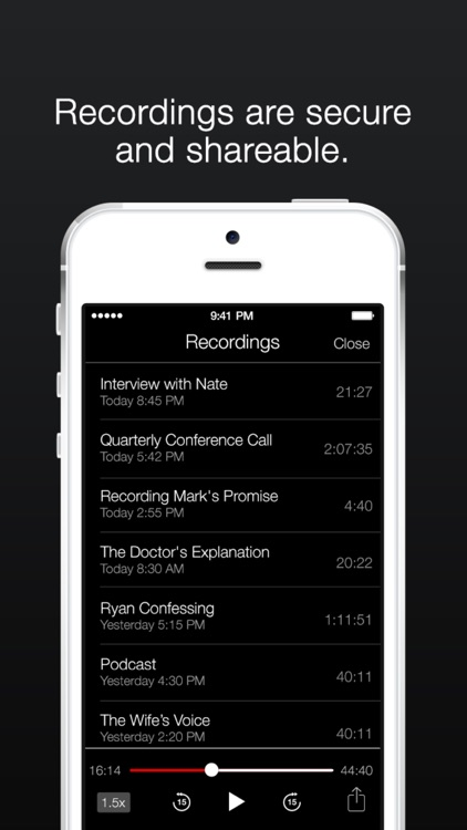TapeACall Lite: Call Recorder screenshot-3
