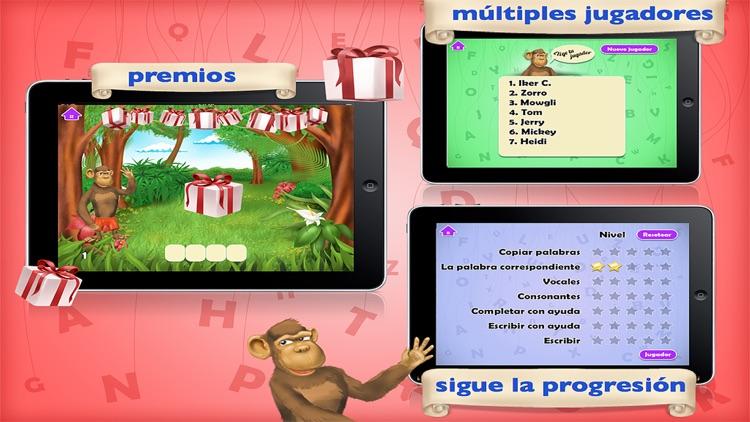 leer y escribir para niños - gratis screenshot-4