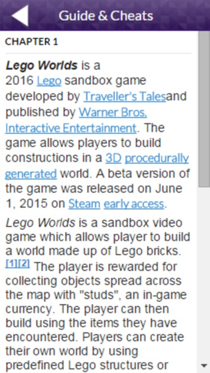 PRO - Lego Worlds Game Version Guide