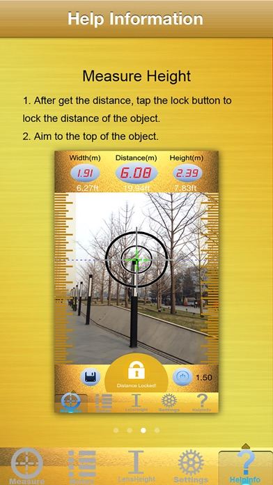 Screenshot for Laser Tape Measure in South Africa App Store