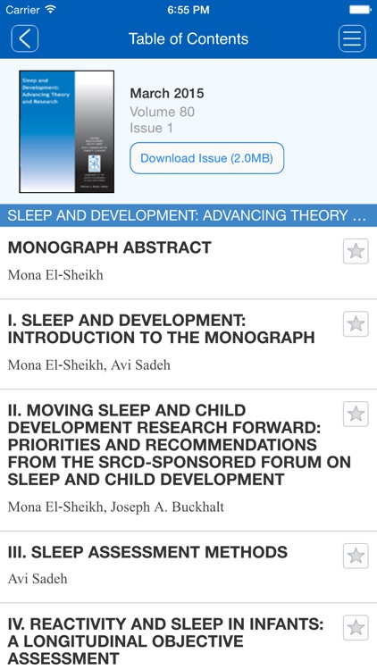 Monographs of the Society for Research in Child Development