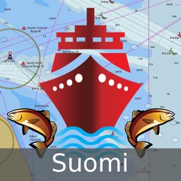 i-Boating:Finland GPS Nautical / Marine Charts  &  navigation maps