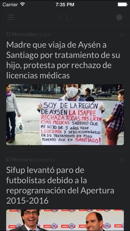 Periódicos CL - Los mejores diarios y noticias de la prensa en Chile screenshot-4