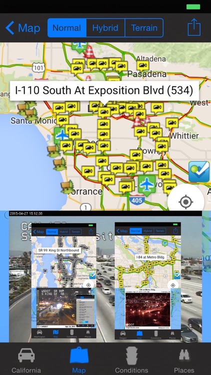 I-5 Traffic Cameras and Road Condition Pro