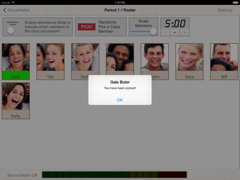 GroupMaker Screenshot 3