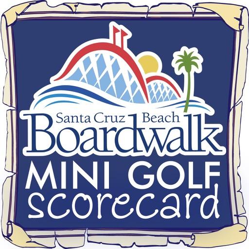 Santa Cruz Beach Boardwalk Mini Golf Scorecard
