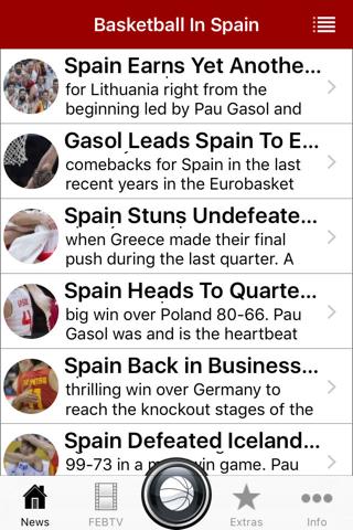 Spain Basketball League Scores - náhled