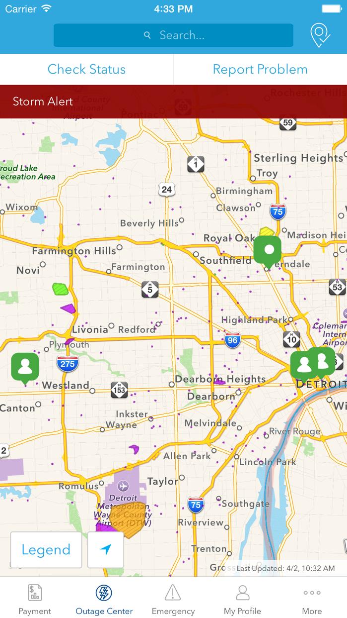 DTE Energy Screenshot