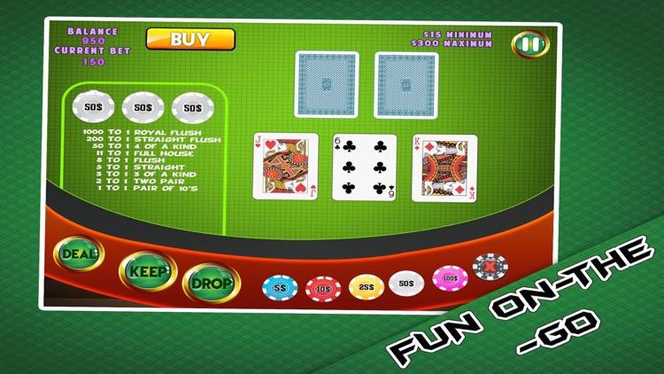 Classic Cards - Free Poker Casino