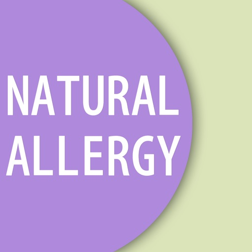 User's Guide to Natural Allergy Relief iOS App