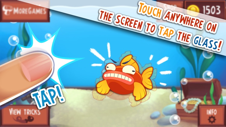 Don't Tap the Glass! Game of the Cranky and Moody Fish
