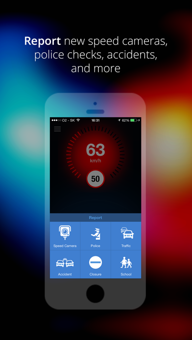 Speed Cameras & Traffic by Sygic screenshot