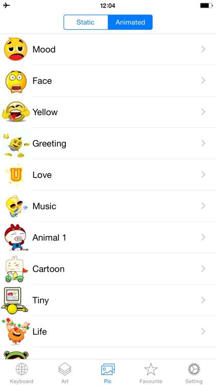 Emojis Keyboard New - Animated Emoji Icons & Emoticons Art Added For Texting Free screenshot-4