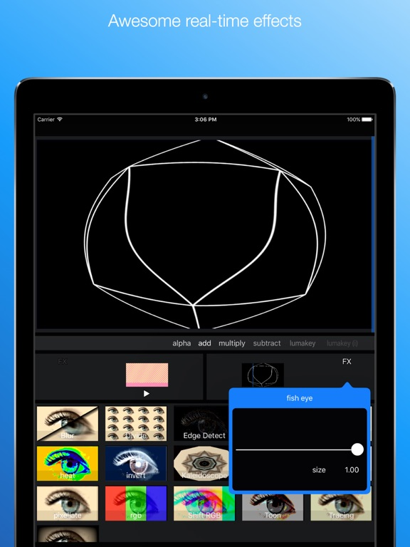 GoVJ - VJ video mixer Screenshots