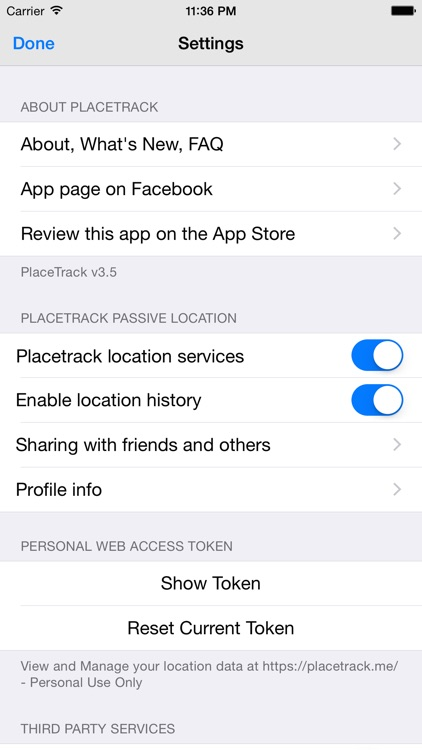PlaceTrack - family tracking and location sharing screenshot-3