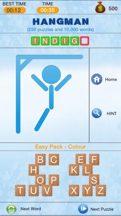 Hangman - Search and Crack Hidden Word Puzzle screenshot-3