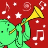 Toddlers musical tunes - an interactive musical toy with HD instrument sounds,games and rhymes