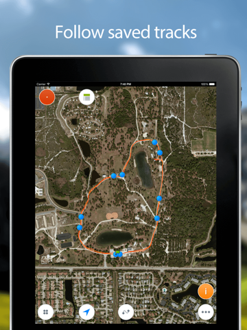 Track Kit - GPS Tracker with offline maps-ipad-3