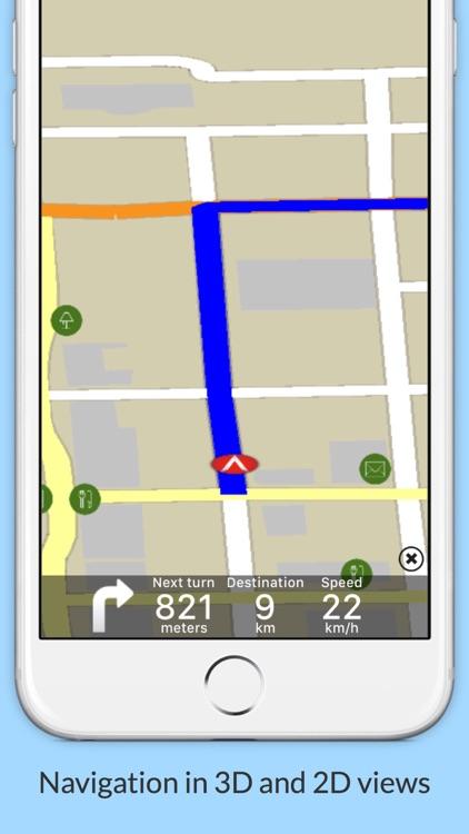 Haiti GPS Map Navigator screenshot-3