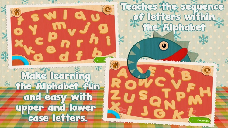 Alphabet Soup - Cutie Mini Monsters screenshot-3