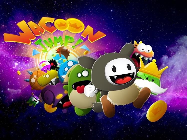 Wacoon Jump! HD screenshot-0