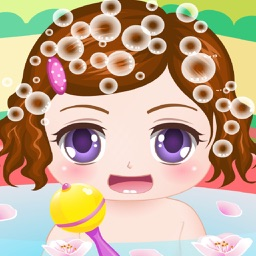 Cute Baby Bathing Game - The hottest kids baby bathing game for girls and kids!