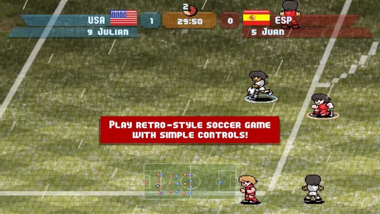 Pixel Cup Soccer