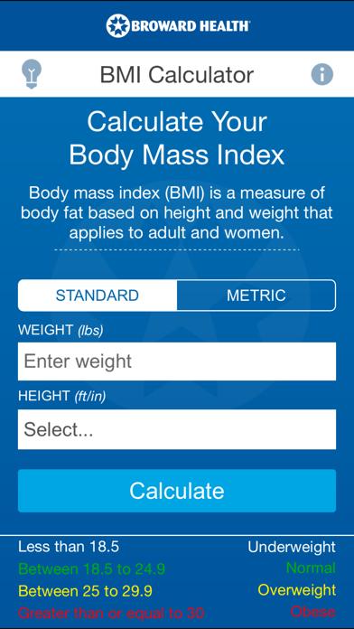 BH BMI screenshot one