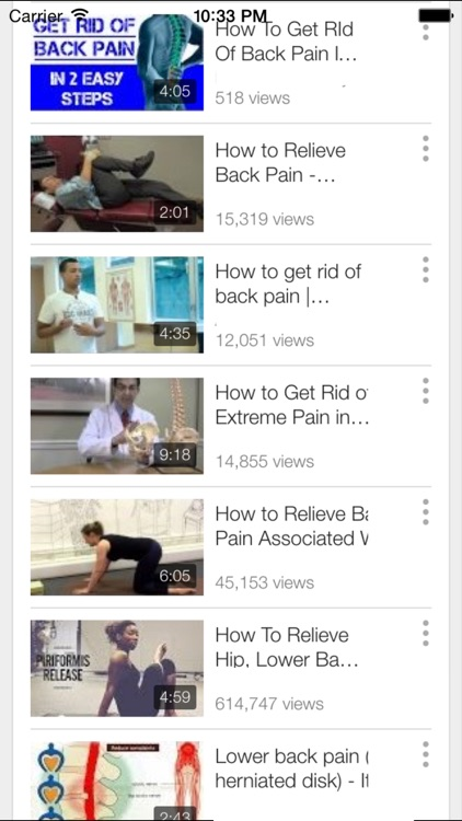 Back Pain Exercise - Learn How to Treat Lower Back Pain at Home screenshot-3