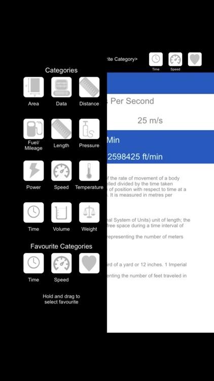 Blagdon Apps Simple Converter screenshot-3