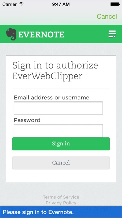 EverWebClipper for Evernote - Clip Web Pages screenshot-3