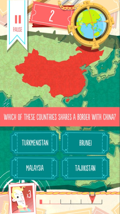 Worldly - Countries Quiz!
