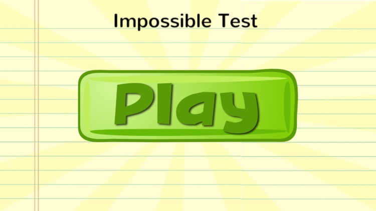 The Impossible Test screenshot-3