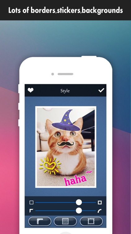 Frame Moment Pro - Grid Editor to collage & crop your photos on instagram screenshot-2