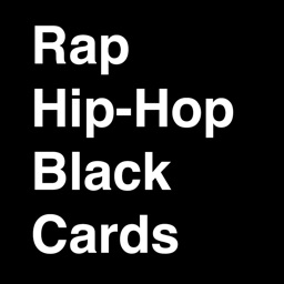 Rap Hip-Hop Black Cards