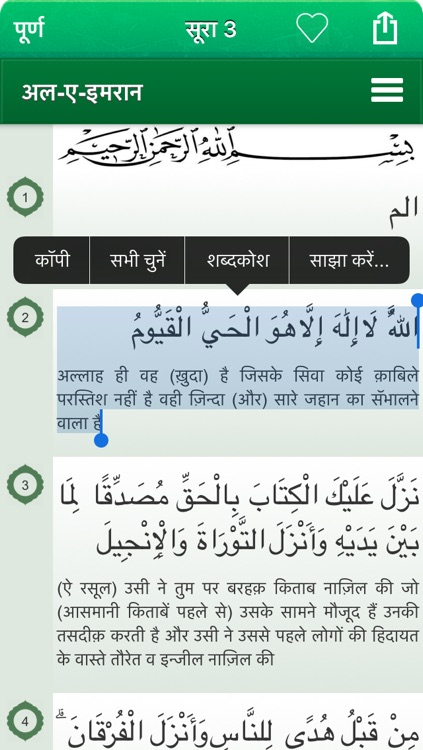Quran Audio mp3 in Hindi (Lite) screenshot-4