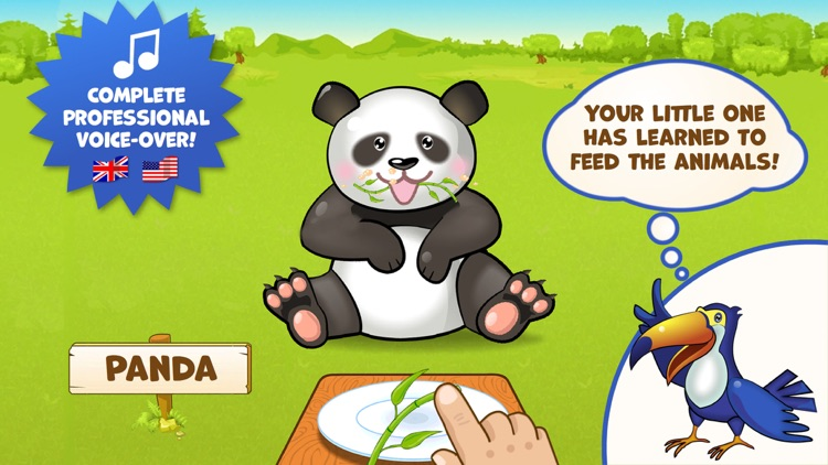 Zoo Playground - Games with animated animals for kids screenshot-3