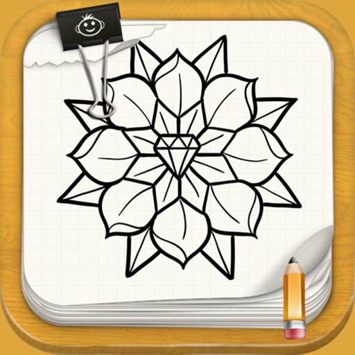 Learn to Draw Tattoo Style Flowers