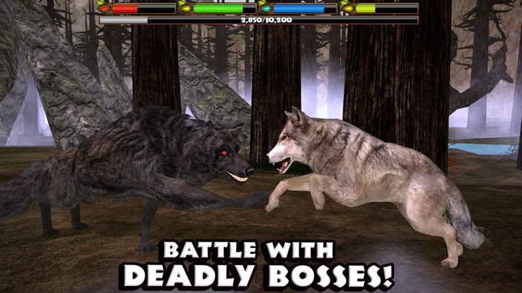 Ultimate Wolf Simulator screenshot-4