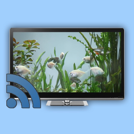 Fish Tank on TV for Chromecast