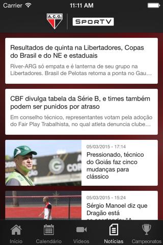 Atlético-GO  SporTV screenshot 4