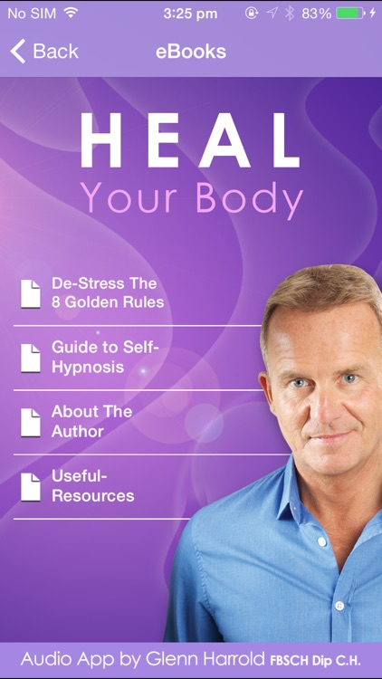 Heal Your Body by Glenn Harrold: Hypnotherapy for Health & Self-Healing screenshot-3