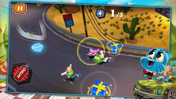 Formula Cartoon All-Stars – Crazy Cart Racing with Your Favorite Cartoon Network Characters screenshot-0