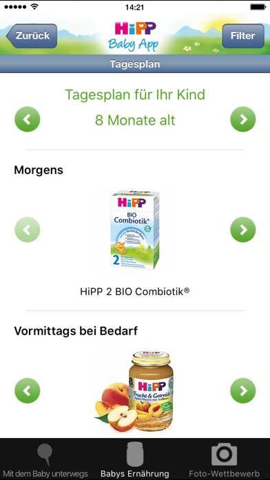 messages.download HiPP Baby App software