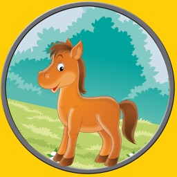 beautiful horses for kids - free game