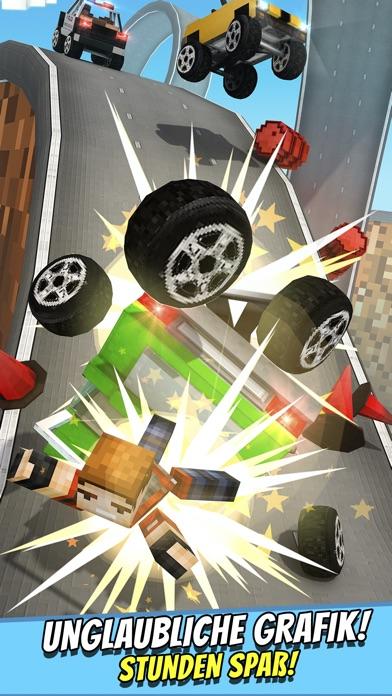 Crafting Cars . Kostenlose Auto Rennen Spiele für KinderScreenshot von 4