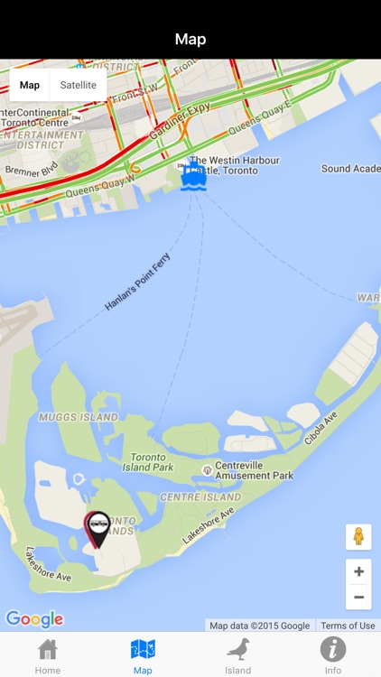 Toronto Island Ferry Finder screenshot-2