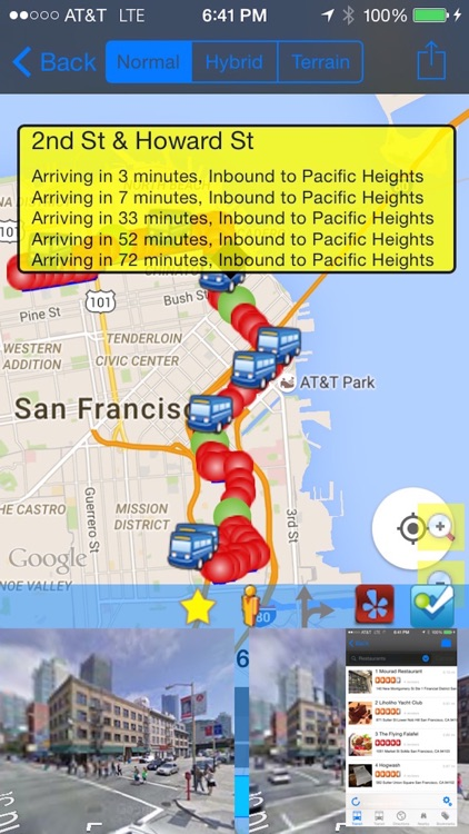 My SF Muni Next Bus - Public Transit Search and Trip Planner