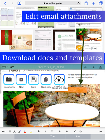WDocs - Microsoft Office Word Edition doc docx Document Editor | App Price  Drops