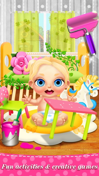 My Baby Care™ Newborn Babies: Nursing & Dress Salon Kids Game screenshot-3